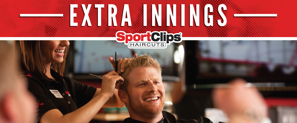 The Sport Clips Haircuts of Escondido Extra Innings Offerings