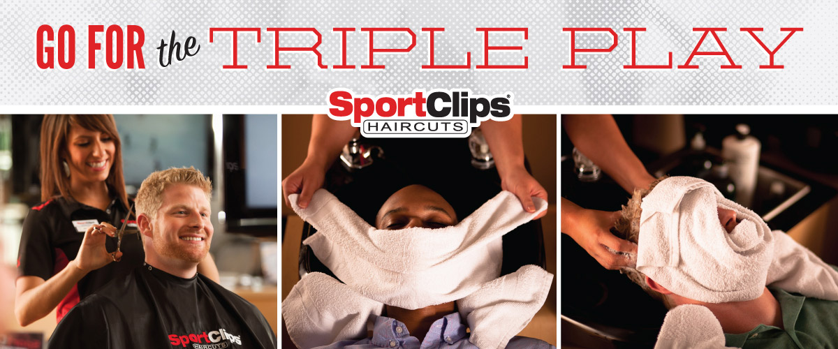 The Sport Clips Haircuts of Escondido Triple Play